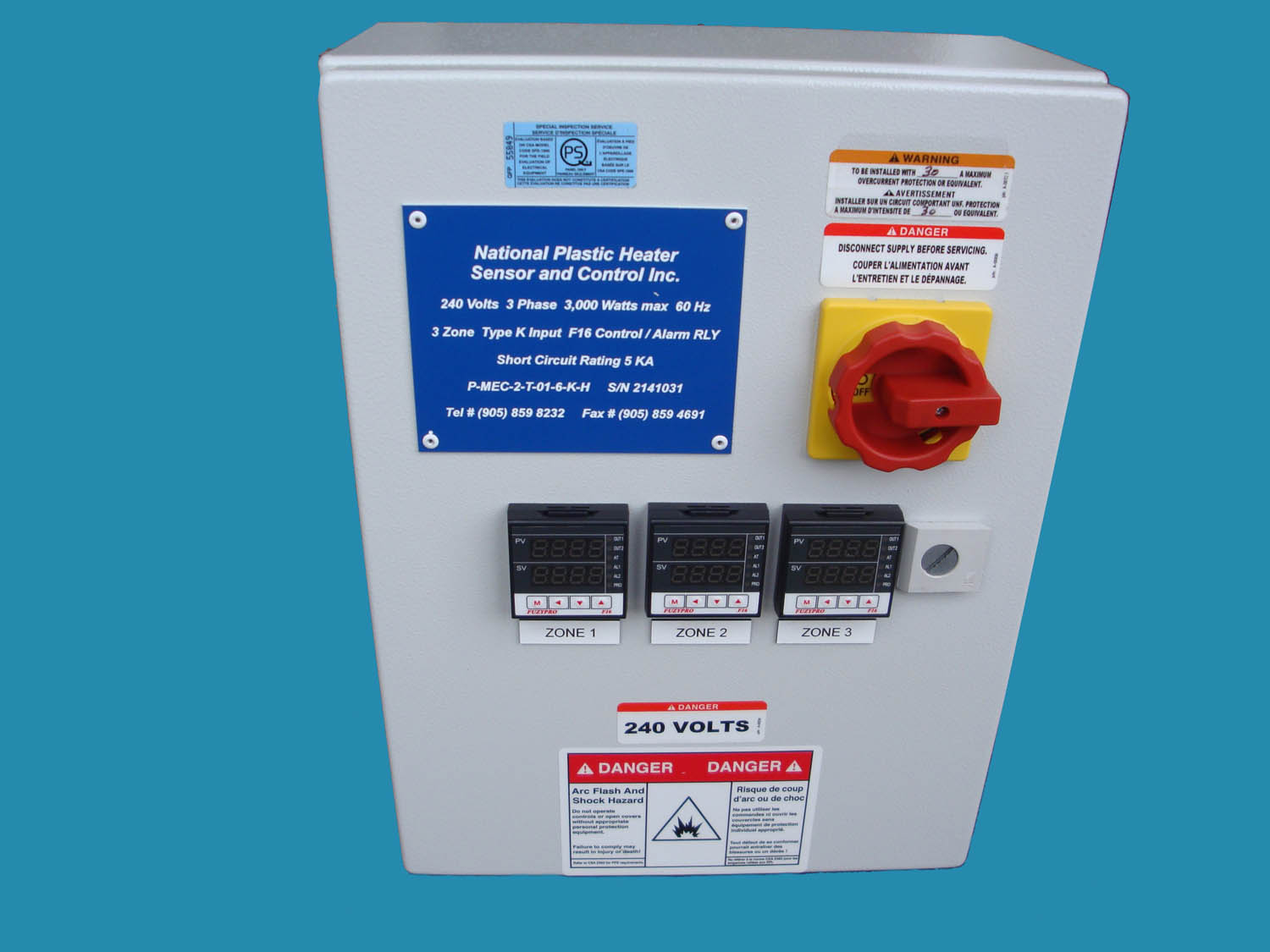 Temperature Control Power Panels